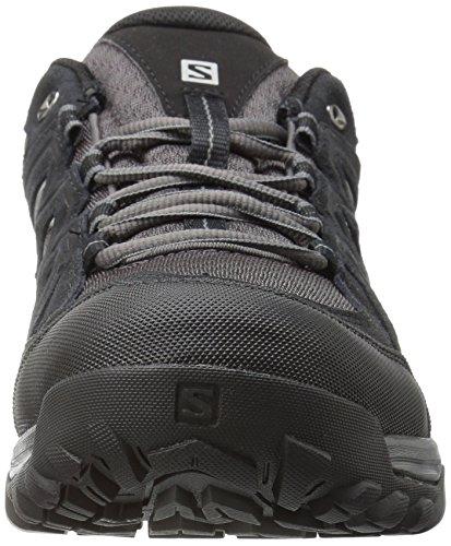 Salomon L39356900, Chaussures de Course de Trail Homme Noir