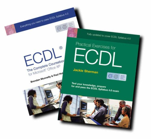 ECDL 4 for Office XP: Complete Course with Practical Exercises for ECDL 4 Pack 1 por Paul Holden