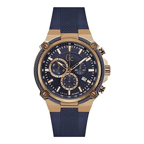 GC by Guess Reloj los Hombres Sport Chic Collection GC Cable Force Cronógrafo Y24006G7