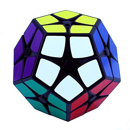 Didu® shengshou Dodekaeder Aufkleber kurvigen 2x2,12 Farbe Megaminx Puzzle-Würfel-schwarze Bildung Spielzeug