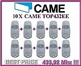 10 X CAME TOP432EE handsender 2-kanal 433.92Mhz fernbedienungen. 10 Stücke für den besten Preis!!!