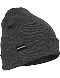 URBAN CLASSICS - Basic Flap Beanie (charcoal)