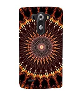 printtech Abstract Pattern Back Case Cover for LG G3