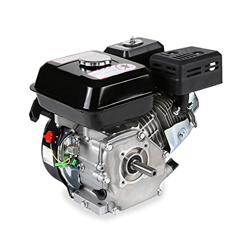 EBERTH 6.5 HP Petrol Engine 1 Cylinder 4-Stroke with 19,05mm Shaft Test