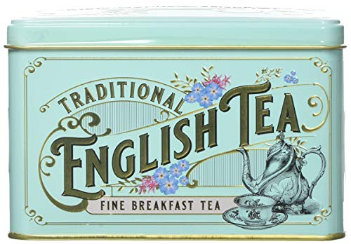 New English Teas Vintage Victorian Tea Tin, 218 g