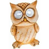 One Lieferung–Bright Eyes Eule–kleine–Neuheit Solar Garten Licht–Bright Weiß led Augen