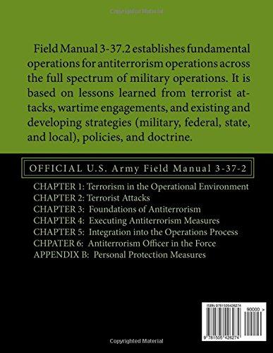 Antiterrorism: OFFICIAL U.S. Army Field Manual 3-37-2