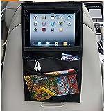 ETGtek 1pcs Auto Zurück Autositz-Organisator-Halter Multi-Tasche Spielraum-Speicher-hängender Beutel-Windel-Beutel-Baby-Kind-Auto-Sitz Ipad Tasche