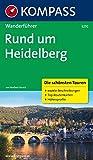 Rund um Heidelberg: Wanderführer mit Tourenkarten und Höhenprofilen (KOMPASS-Wanderführer, Band 5270) - Norbert Forsch