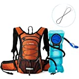 Miracol Insulated Hydration Backpack Pack With 2L BPA Free Water Bladder And Long Tube Brush - B0761JGKYP