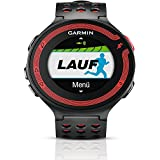 Garmin Forerunner 220 HRM - Reloj de carrera con GPS y monitor de frecuencia cardiaca, color negro y rojo
