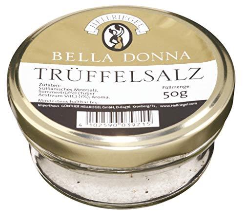 Hellriegel Bella Donna Trüffelsalz 50g mit Sommertrüffeln