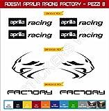 Selbstklebend stickers-racing Factory Kit Aprilia Löwe 08)?SCEGLI colore- Motorrad Cod. 0118 - Nero cod. 070