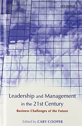 managerial leadership for the 21st century Requisite organization: a total system for effective managerial organization and managerial leadership for the 21st century by elliott jaques based on elliott jaques' latest research, this is a thorough revision of a book that has established itself as a classic in its field.