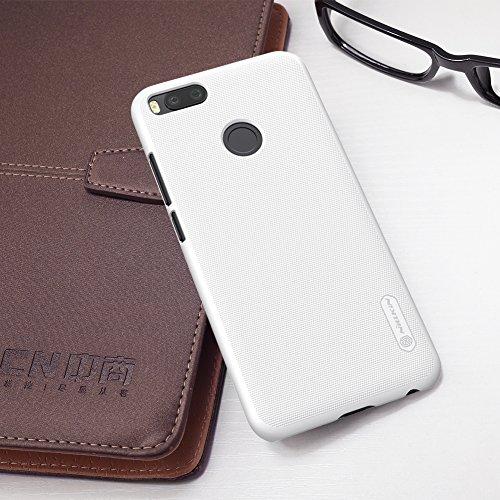 SMTR XiaoMi MI A1 Funda, Cubierta Slim Armor Funda +1 film Protector de pantalla para XiaoMi MI A1 ,(Slim Fit Series - Blanco)