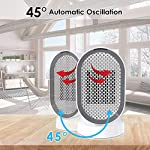 Termoventilatore-Ceramica-PTC-Stufa-Elettrica-Riscaldamento-2S-Touch-Controllo-600W35W-Riscaldatore-Elettrico-Rotazione-45-Surriscaldare-Inciampare-Protezione-per-Ufficio-Camera-Casa-Laluztop