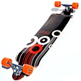 Atom Drop Down Longboard - Orange