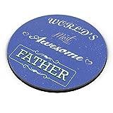 PosterGuy Fridge Magnet - Best Father   Designed by: Rishabh Jain