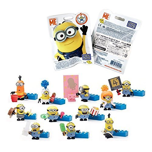 Mattel - Individual envelopes with the minions 5 series (DKW82), 1 unit