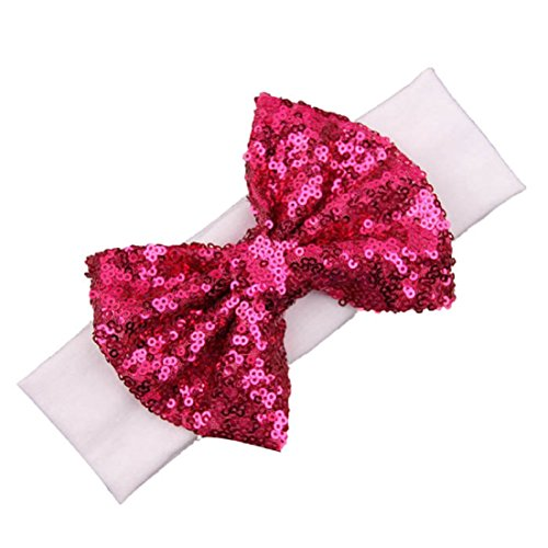 Tonsee® 2015 Enfants élastique Serre-tête Paillettes mignon Bow Baby Girl cheveux accessoires de mode (K)