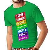 lepni.me N4336 Camiseta Las Reglas de mi Vida (Small Verde