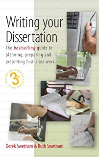How to write a 1st dissertation