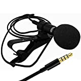 Lapel Collar Mic Clip On Microphone Lplmic-78 By Meya Happytm For Mobile, Dslr Camera | Used For Youtube