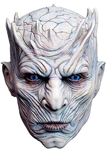 Preisvergleich Produktbild Mahal796 Latexmaske für Erwachsene,  Motiv Night 'S King – Game of Thrones – Einheitsgröße