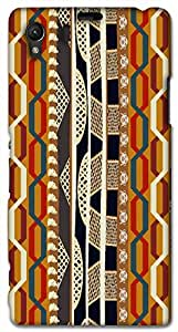 Timpax protective Armor Hard Bumper Back Case Cover. Multicolor printed on 3 Dimensional case with latest & finest graphic design art. Compatible with Sony L39H - Sony 39 Design No : TDZ-28804