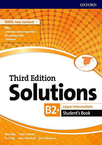 Solutions upper - intermediate student's book 3rd edition - (solutions third edition)
