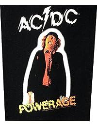AC/dC rückenaufnäher pOWERAGE backpatch écusson