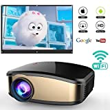 Best Android Projectors - Wireless Wifi Projector Full HD 1080P, IBACAKYS Portable Review