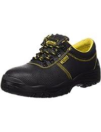 Wolfpack - Zapatos seguridad piel, color negro Nº 42