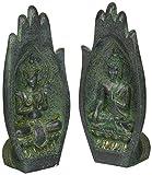 Design Toscano Namaskara Mudra, Buddhahände, Figur