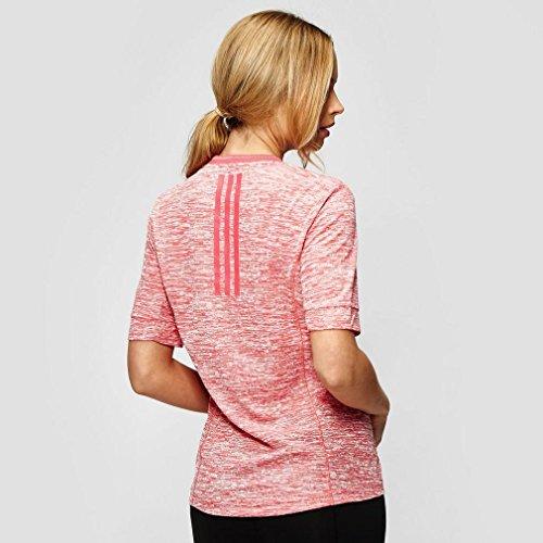 Adidas supernova t-shirt à manches courtes pour femme Rose - rose bonbon