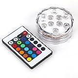 Saflyse Multicolor RGB LED unterwasser Wasserdicht Lampe Leuchte Deko Lichter