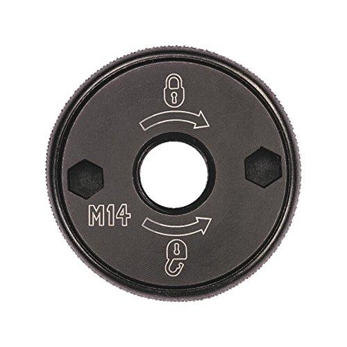 Dewalt Schnellspannmutter M14 (zur Befestigung von Trenn- und Schruppscheiben, Scheibenwechsel ohne zusätzliches Werkzeug möglich) DT3559