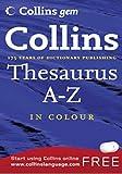 Thesaurus A-Z (Collins Gem)
