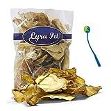 Lyra Pet® 100 Rinderohren ca. 3 kg Hundefutter Kausnack wie Pansen+ Ballschleuder