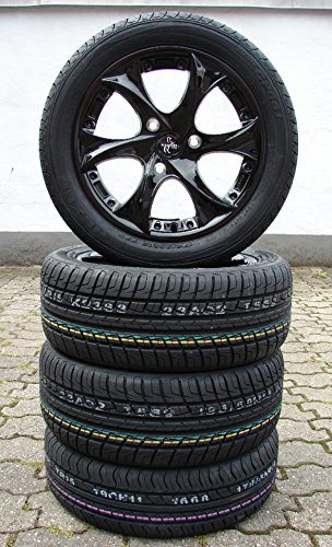 Keskin-Smartie-kt-9-cerchioni-in-metallo-leggero-15-nero-Smart-Fortwo-451