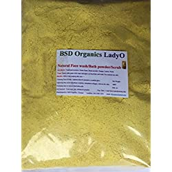 BSD Organics LadyO Natural Herbal Women face wash & bath powder / scrub - 1 Kg