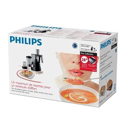 Philips-HR776290-Kchenmaschine-750-Watt-inkl-Knethaken-Standmixer-und-Mhle-schwarz