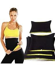 West Cyclisme en néoprène Taille Shapers ou ceinture amincissante taille ceinture Satin pour Hommes & Femmes perte de poids Sport Formation