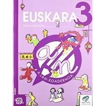 Txanela 3 - Euskara 3. Lan-koadernoa 6 - 9788497831208