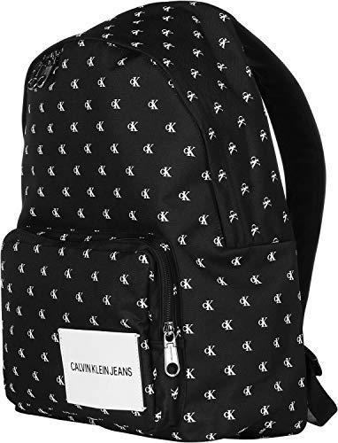 Calvin Klein Jeans Unisex-Erwachsene Sport Essential Mono Cp 45 Henkeltasche, Schwarz (Black/White), 16x30x45 cm
