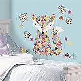 Bavaria Home Style Collection Hochwertiger Wandtattoo Tattoo Wand Tattoo Fuchs Schmetterlinge künstlerisch mit außergewöhnlichem Design Macht die Wand zu Einen Echten Blickfang