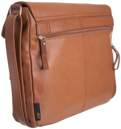 Jost Trace 3277-003, Unisex - Erwachsene Handtasche / Schultertasche, braun, mittelgroß braun