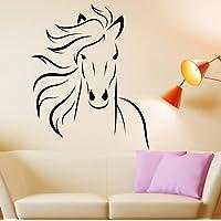 Customwallsdesign Mustang Horse Animal Vinyl Wall Decal Art Sticker Decor Stencil horse decal