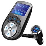 Die besten VicTsing Bluetooth Transmitter für Autos - VicTsing FM-Transmitter, Bluetooth, Freisprecheinrichtung, kabellos, Kfz-Ladegerät, USB, Musik-Player Bewertungen