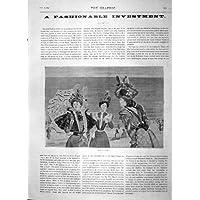 I 1897 Cappelli Virot della Stampa delle Donne Antiche di (Cappelli Vittoriani Per Le Donne)